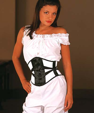 corset serre taille chic porter sur une chemise ou sous une chemise ou sur une robe ou sous. Black Bedroom Furniture Sets. Home Design Ideas