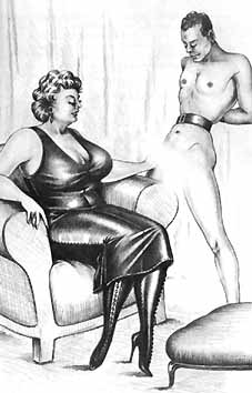 Dessins erotiques travesti